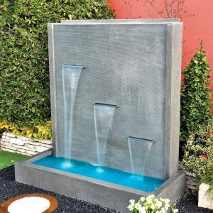 Cascata Perito con lame d'acqua | Giardinidacqua.it