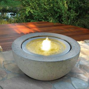 Sfera Mezza luna con Led | Giardinidacqua.it