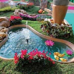 Vasche Per Laghetti Plastica.Giardini D Acqua Laghetti Da Giardino Cascate Accessori Pesci