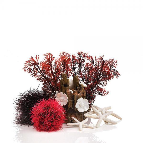 Decorazioni acquario foresta rossa | Giardinidacqua.it
