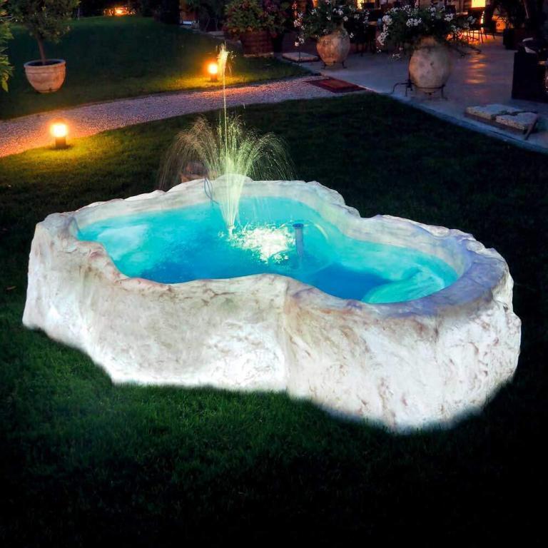 Bacino luminoso Polaris | Giardinidacqua.it