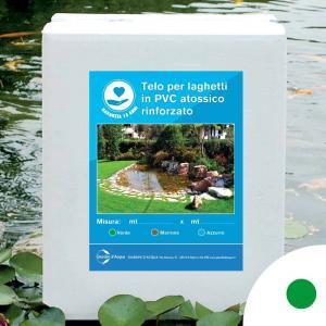 Telo per laghetti in PVC rinforzato verde, 2,5 x 3 m | Giardinidacqua.it