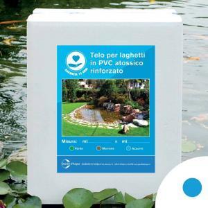 Telo per laghetti in PVC rinforzato azzurro, 3 x 4 m | Giardinidacqua.it